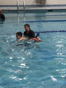 Mikey Swimming