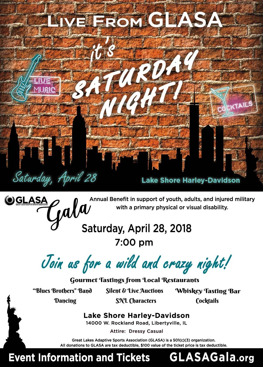 2018 GLASA Gala @ Lake Shore Harley Davidson | Libertyville | Illinois | United States